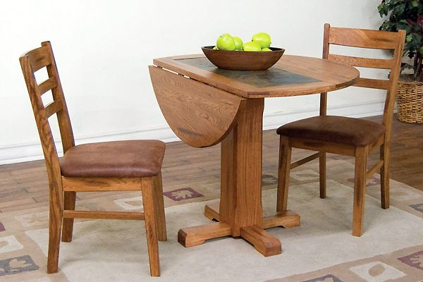 Sedona Drop Leaf Table | Dining table, Small round kitchen ...