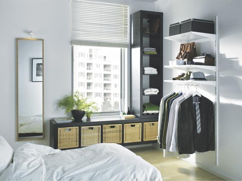 Cómo hacer un mini vestidor #muebles www.mallstreet.es | Dormitorio ...