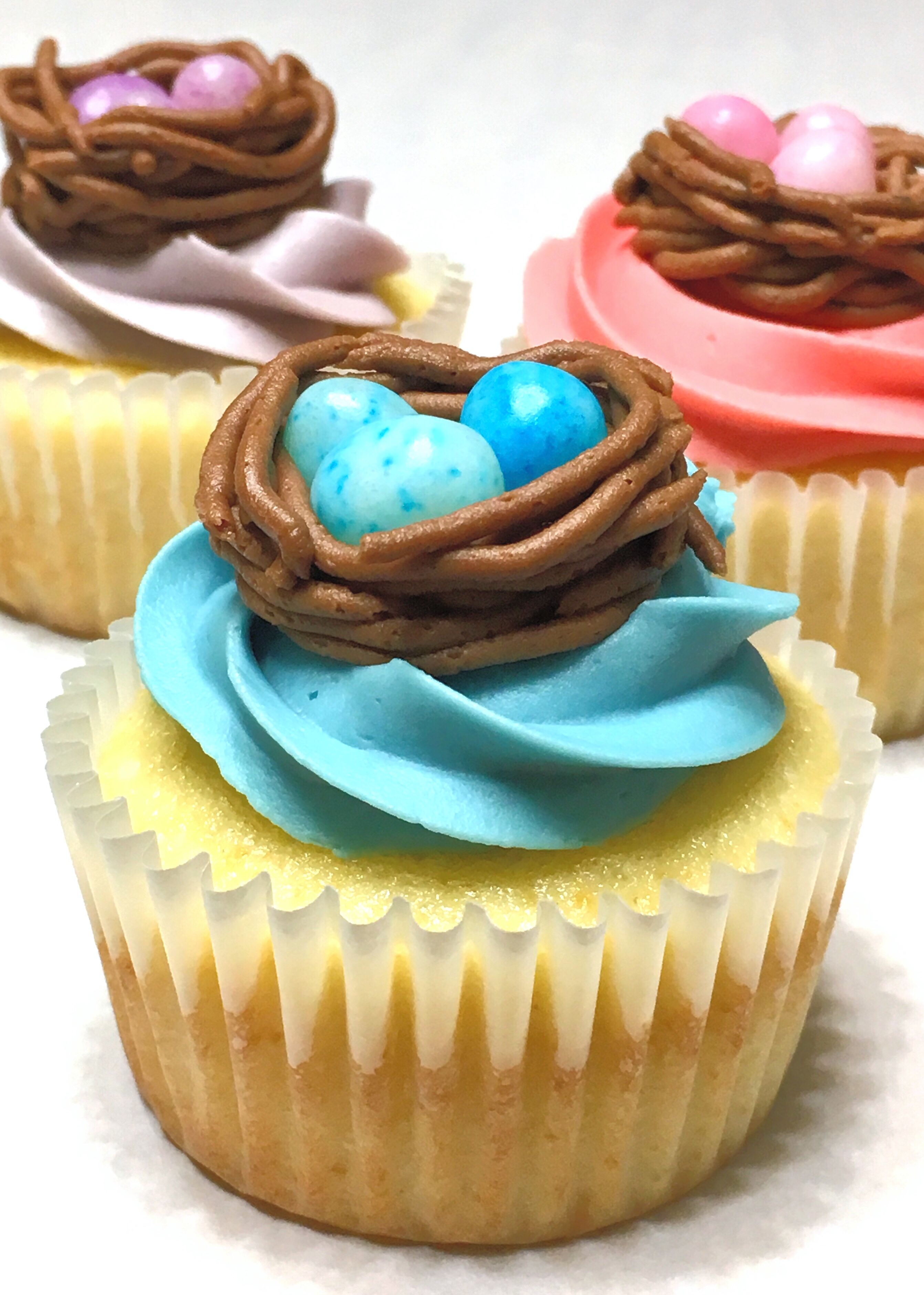 Molten Chocolate Cupcakes With Rainbow Buttercream Recipe