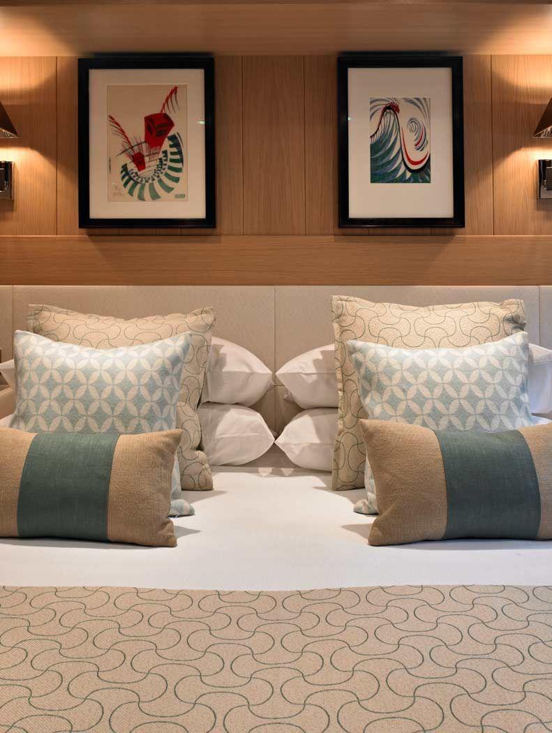Luxury superyacht keyla interior by hot lab luxury yacht charter - David Churchill Superyacht Photographer Kathleen Anne