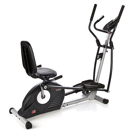 The Proform Hybrid Trainer Is An Exercise Machine Which Combines Workouts Of Elliptical And Rebent Bike