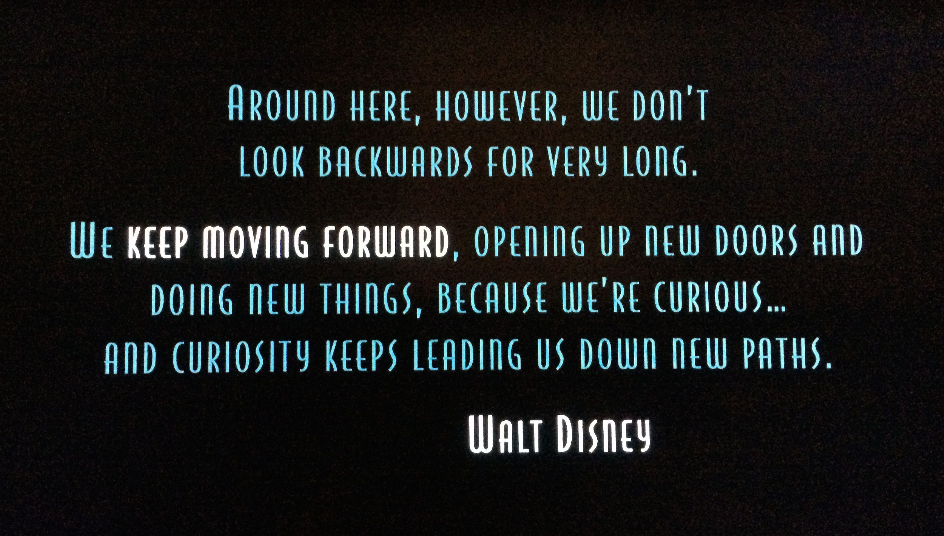 Meet The Robinsons Keep Moving Forward Google Search Disney Tattoos Quotes Walt