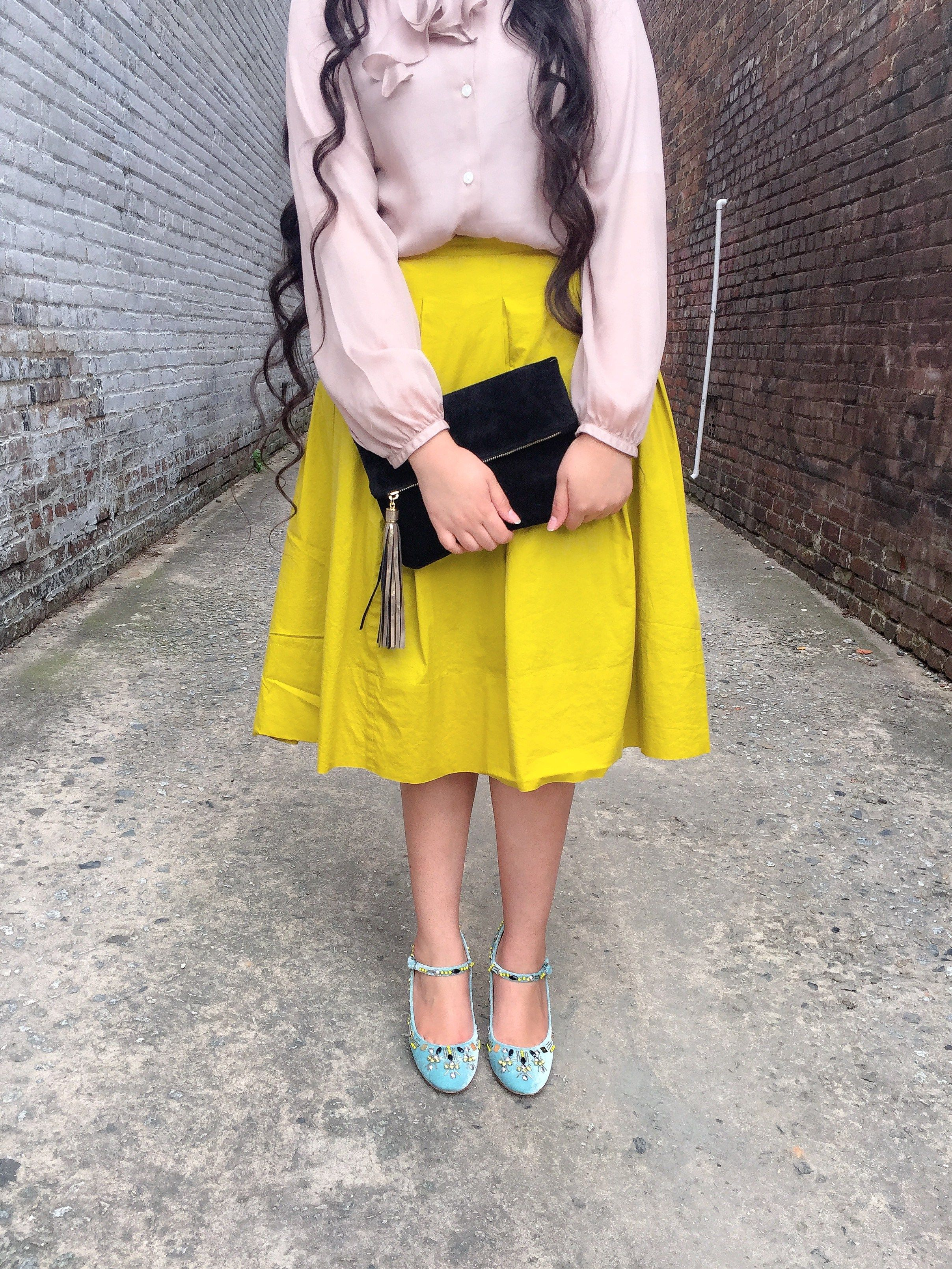 The Colors of Spring | Fun & Modest Outfit Inspo by @kimberdulsi on @shesintentional