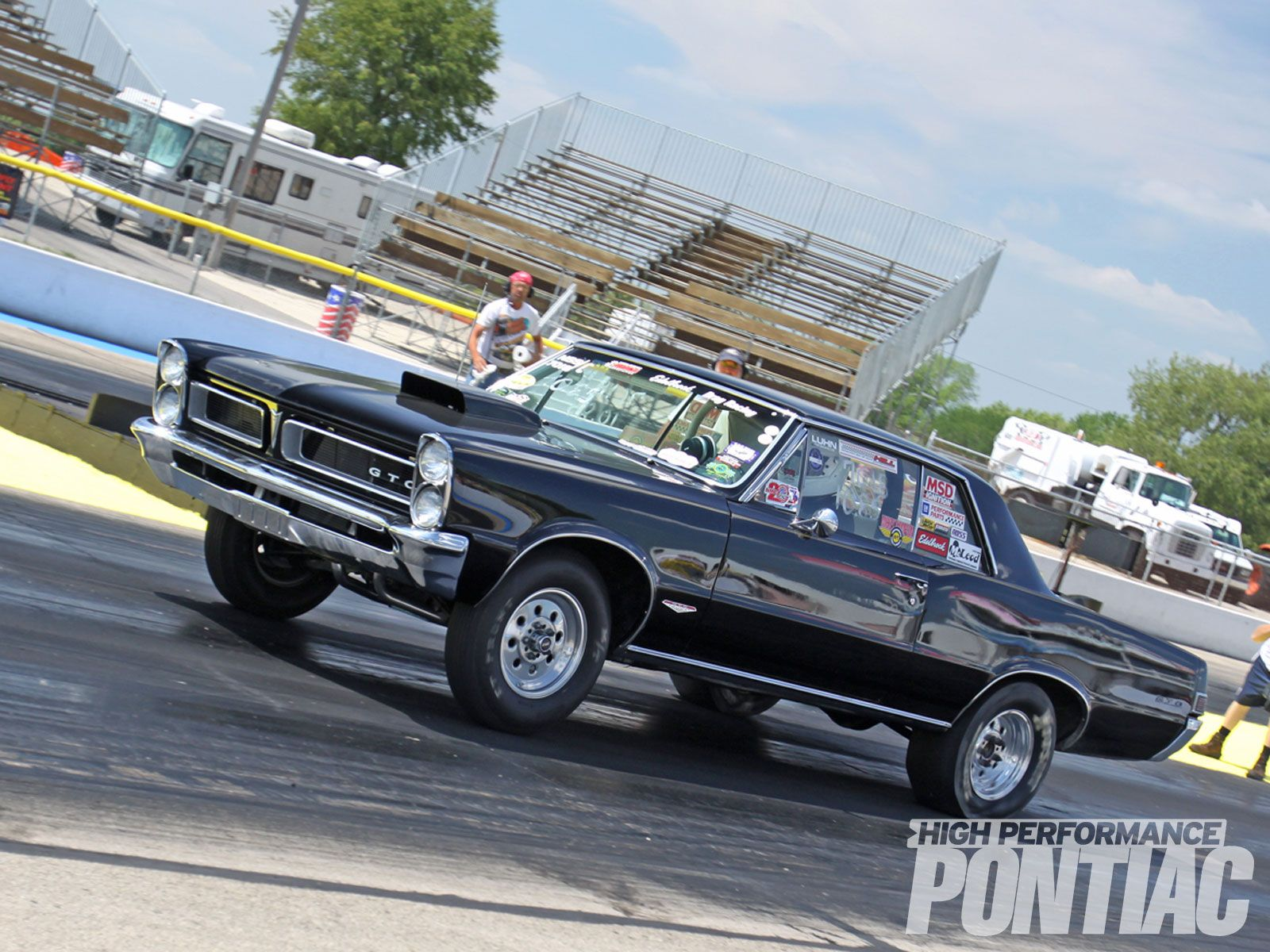 Little red wagon funny car pictures car canyon - 1965 Gto Drag Race Car