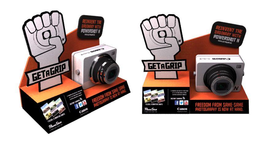 Canon Powershot Display - OP3 International