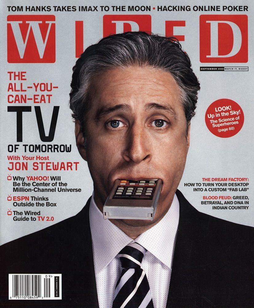 Wired Magazine Covers   Jon Stewart Wired Magazine Wired Pinterest Magazine Wire And