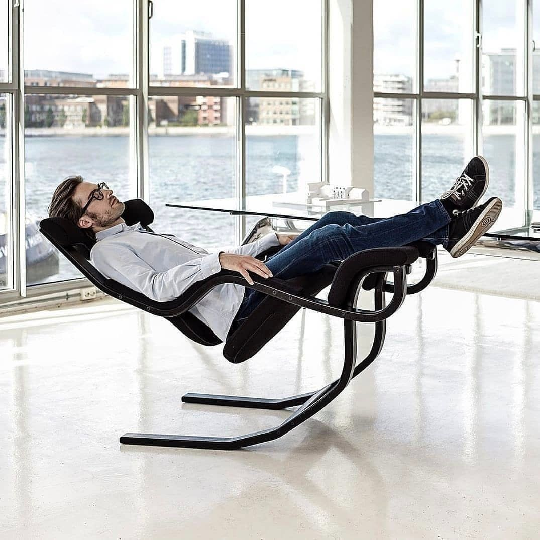 Gravity Balance Chair by Peter Opsvik . 👉Follow ...