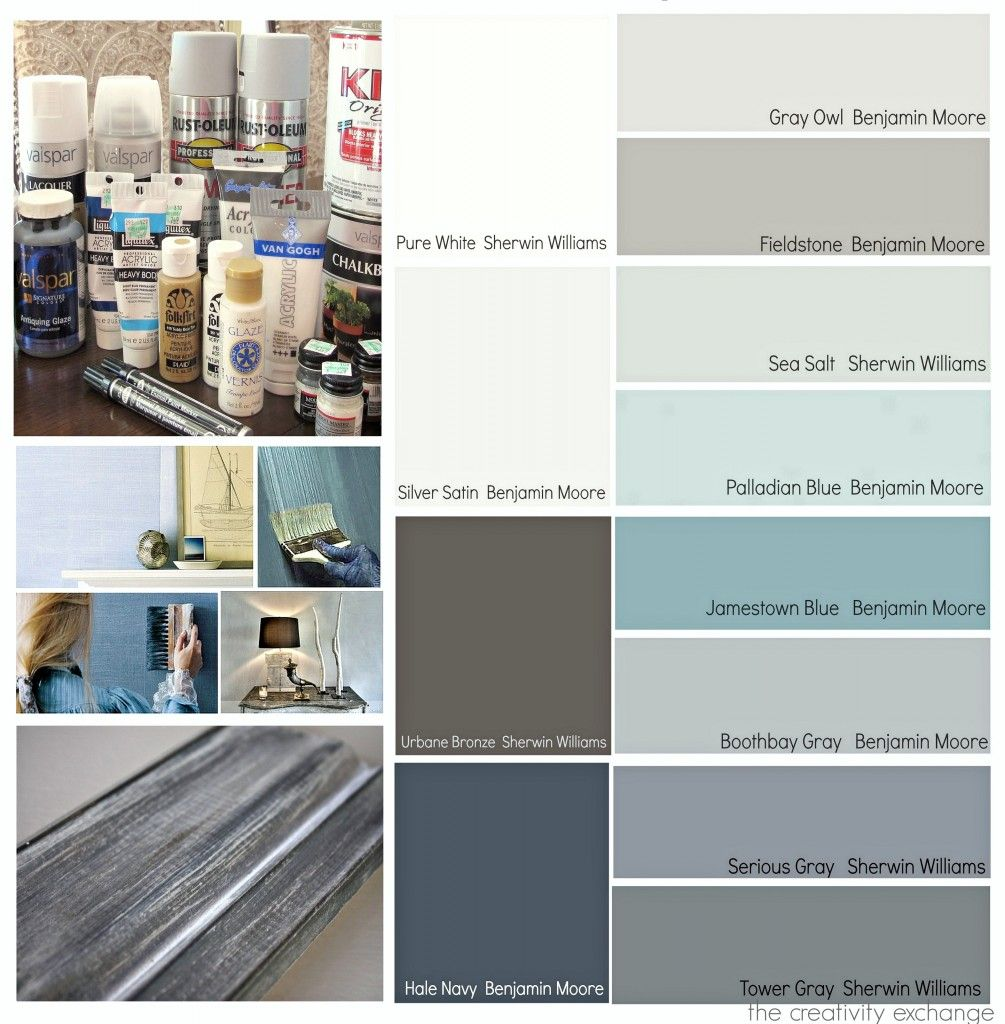 Most Popular Paint Projects And Color Palettes In 2013 {Paint It Monday}.
