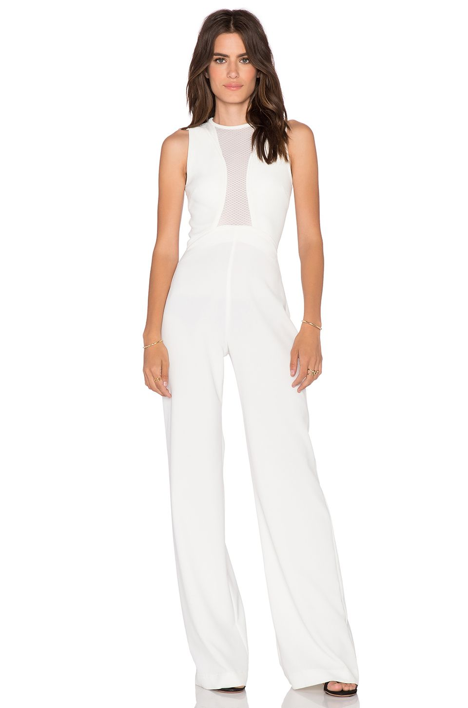 78b38cd001b2 AQ AQ Scorpio Jumpsuit in Cream