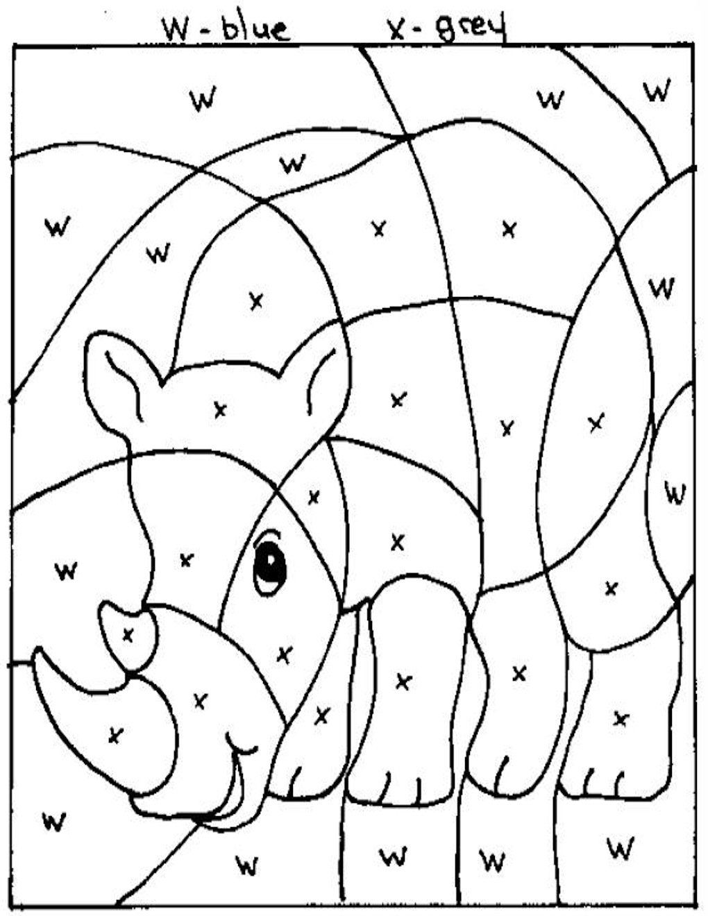 www.education coloring pages.com | onae Coloring /education/animals ...