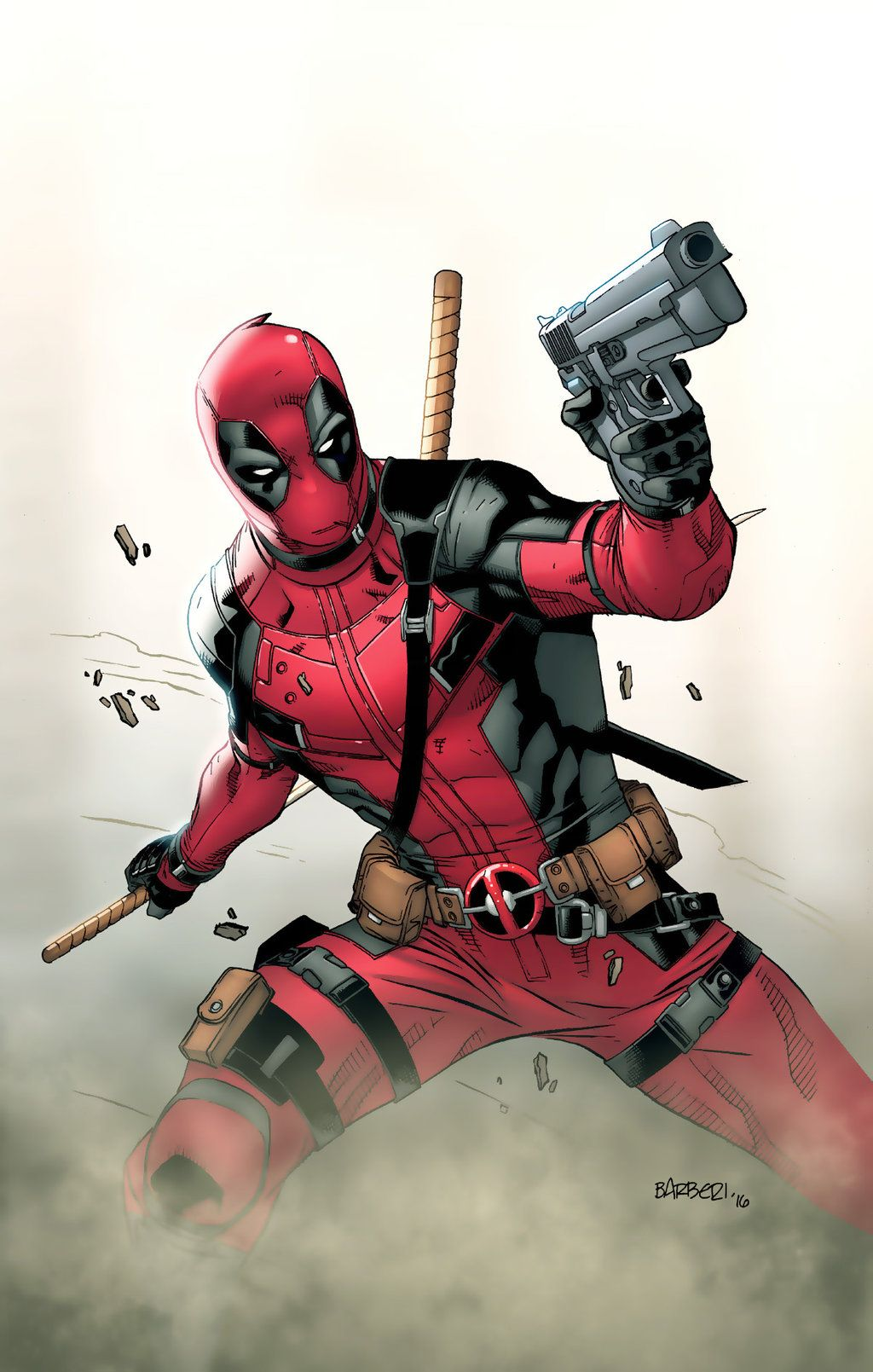 Deadpool by Carlo Barberi | Deadpool | Deadpool, Marvel ...