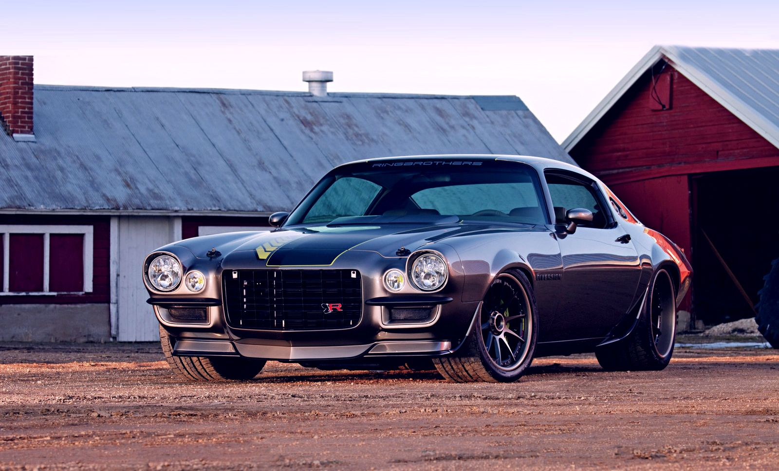 Vehicles - Camaro  - Chevy - Chevrolet - Hot Rod - Muscle Car - Classic Car Wallpaper