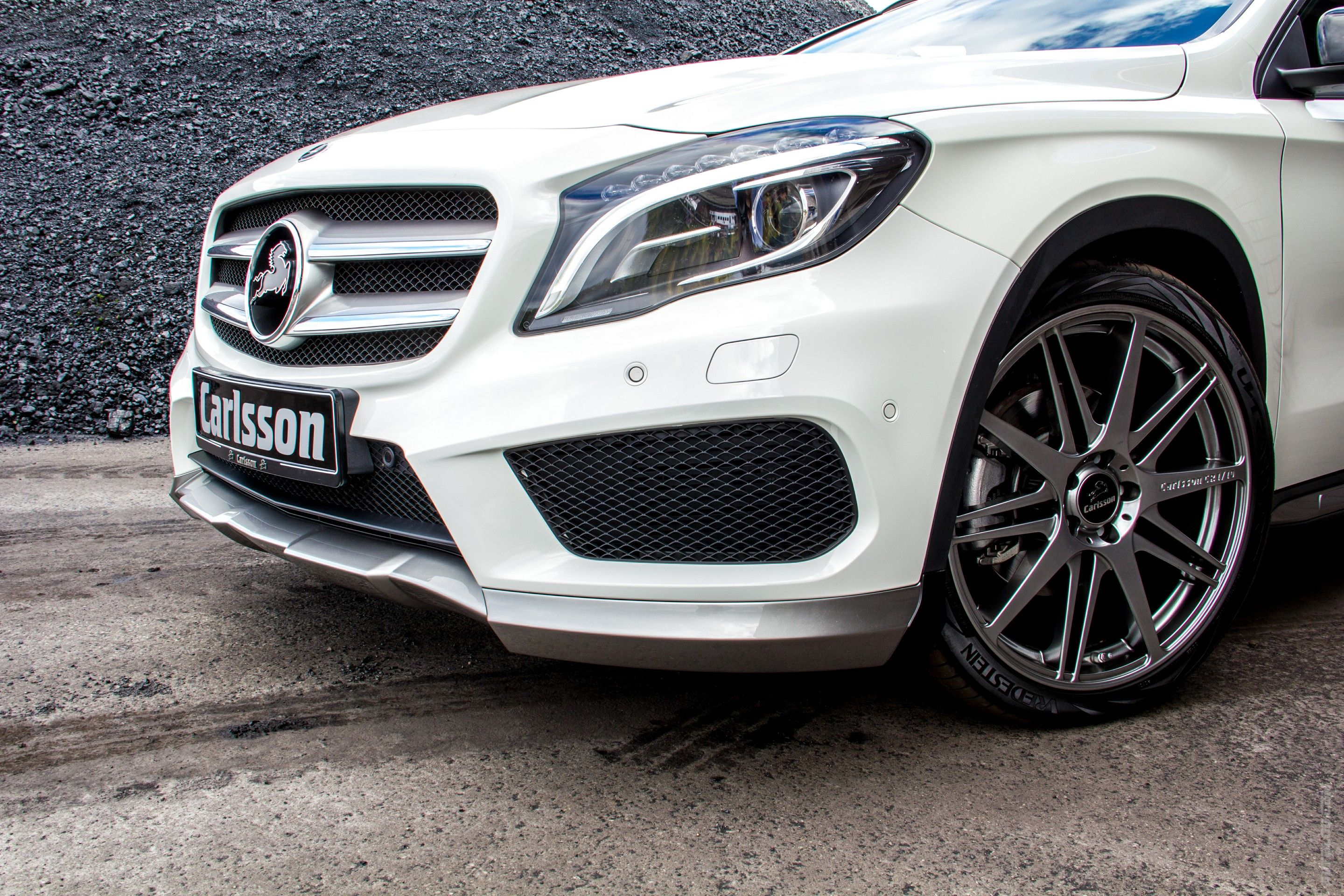 2014 Mercedes Benz GLA от атеРье Carlsson