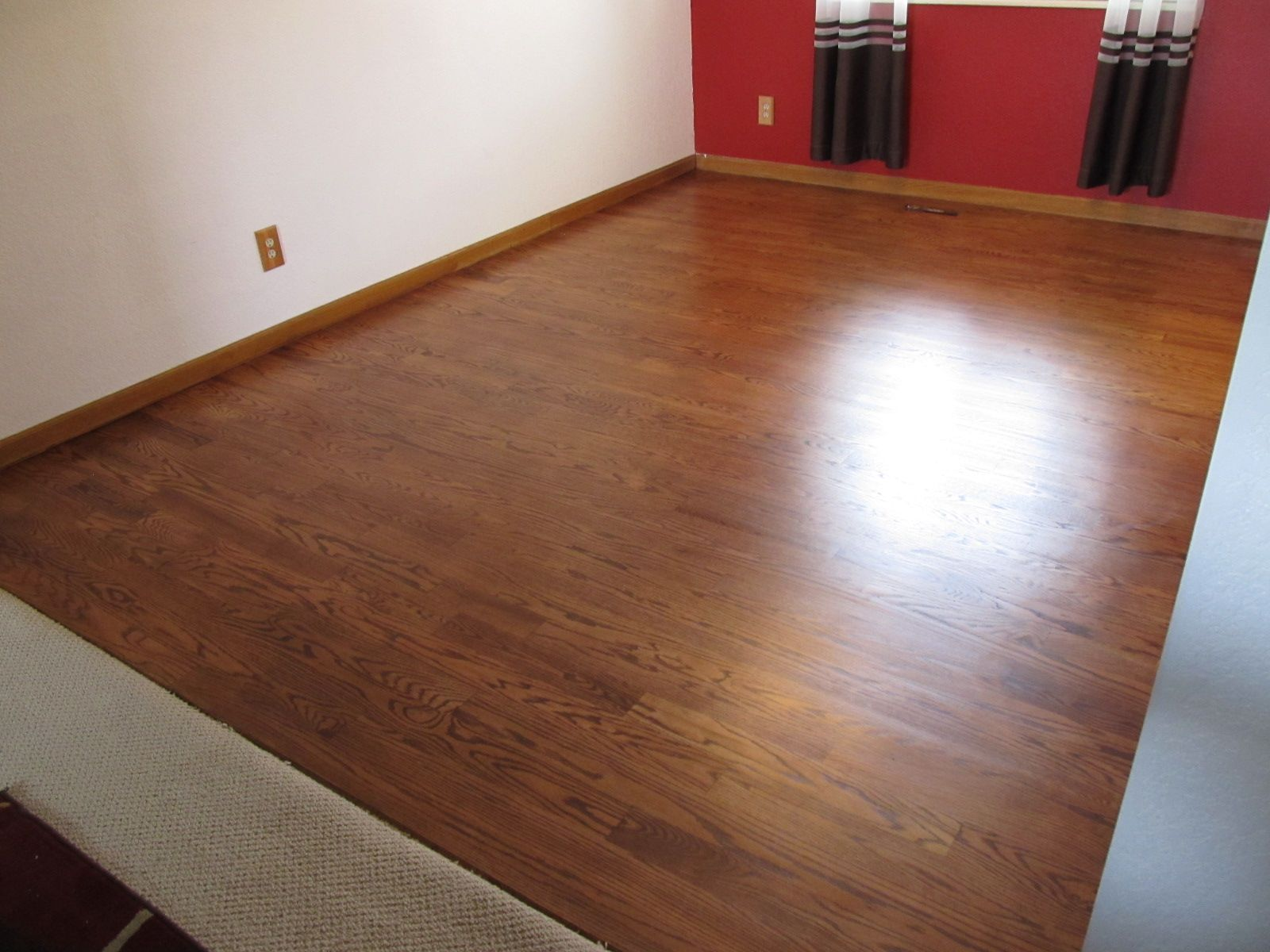 Dura Seal English Chestnut Finish Randy Hardwood Floor