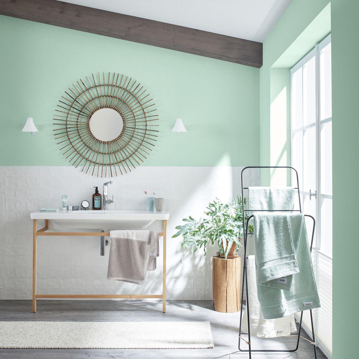 Wandfarbe Naturell Eukalyptusgrun Schoner Wohnen Kollektion In 2020 Schoner Wohnen Wandfarbe Schoner Wohnen Farbe Wandfarbe Grun