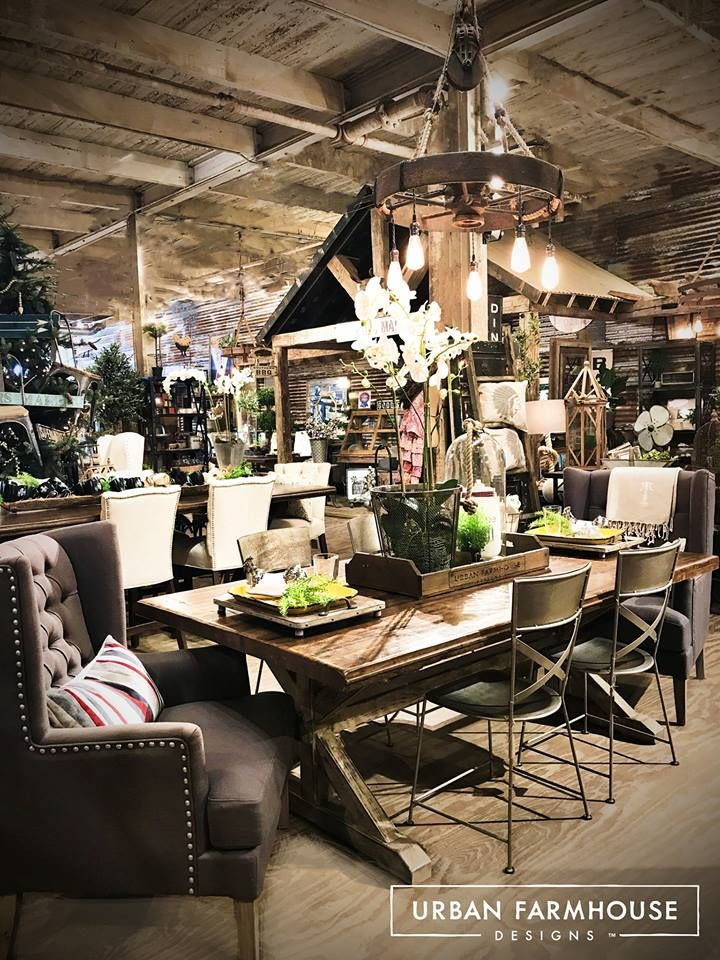 Urban Farmhouse Designs Is A One Of A Kind Furniture Store In Oklahoma