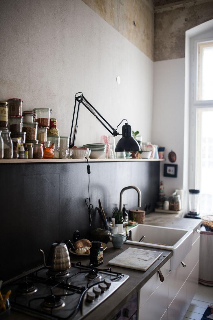 Zu Besuch bei Karina in Berlin-Kreuzberg #kitchenbacksplash