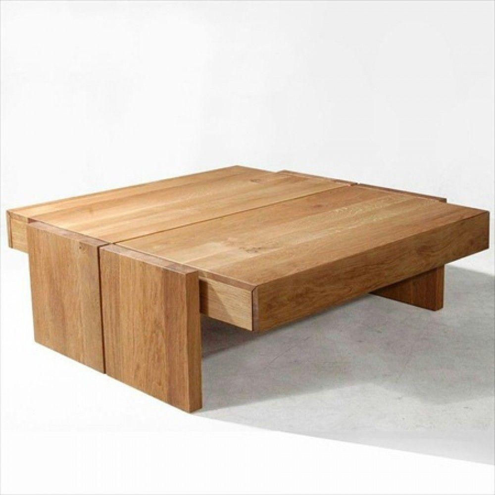 11 Large Square Teak Coffee Table Gallery Di 2020 Meja