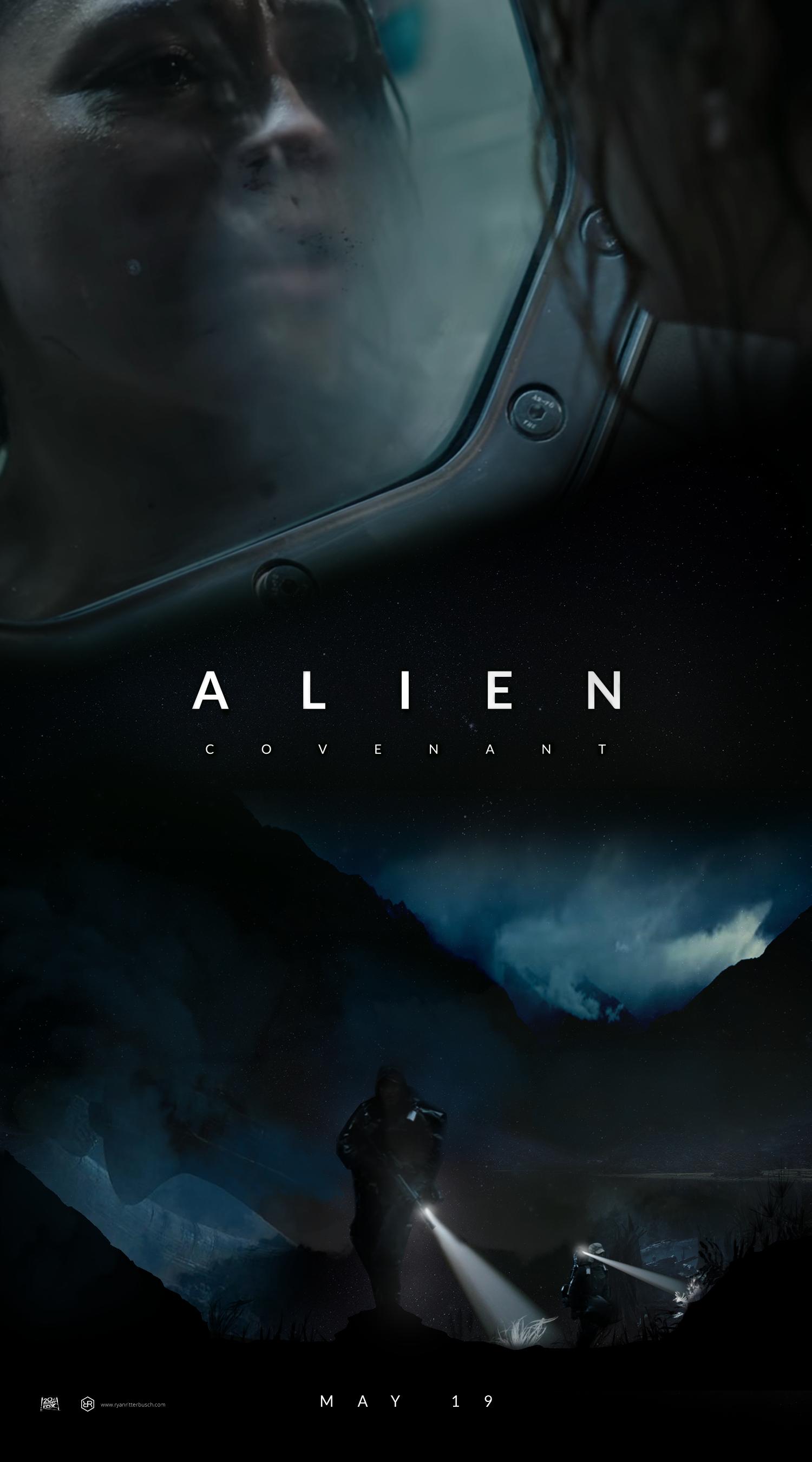 alien covenant run poster wallpaper-#31