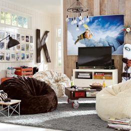 Lounge Room Ideas Teen Lounge Room Decorating Ideas PBteen