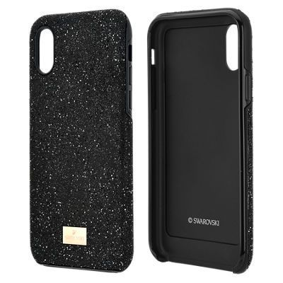 best sneakers ee0c3 b9fb1 Swarovski High Smartphone Case with Bumper for iPhone X, Black ...