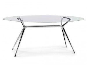 Piano In Vetro Per Tavolo.Pesaro Table Dining Table Furniture