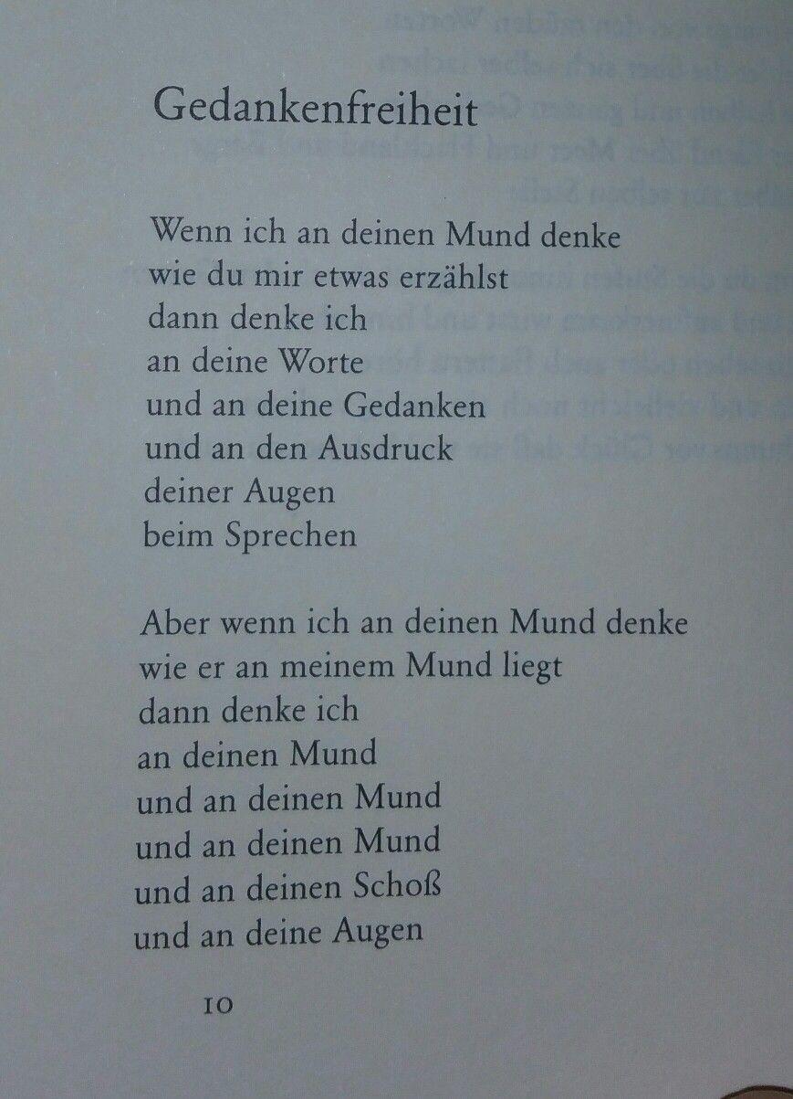 Erich FriedLiebesgedichte | Liebesgedicht, Lyrische