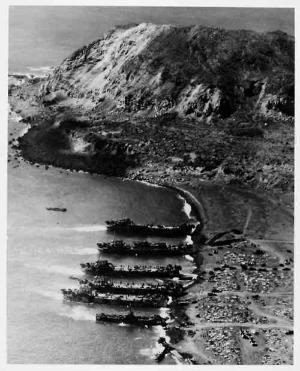 Iwo Jima 19 September 1945 by tammie