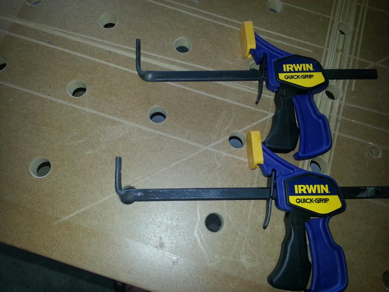 diy alternative to festool quick clamps | my shop list in