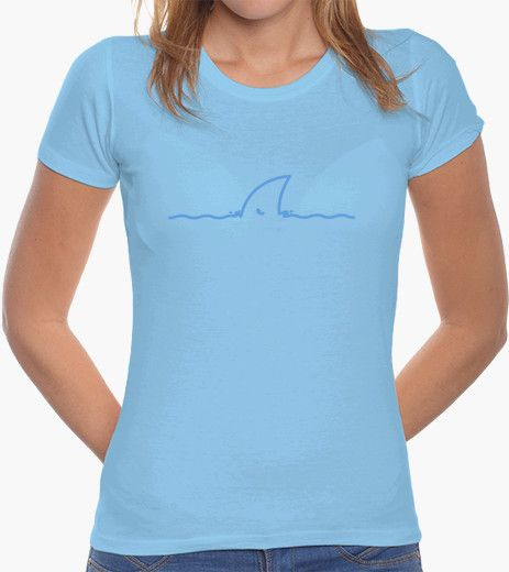 T-shirt HELP! SHARK FIN