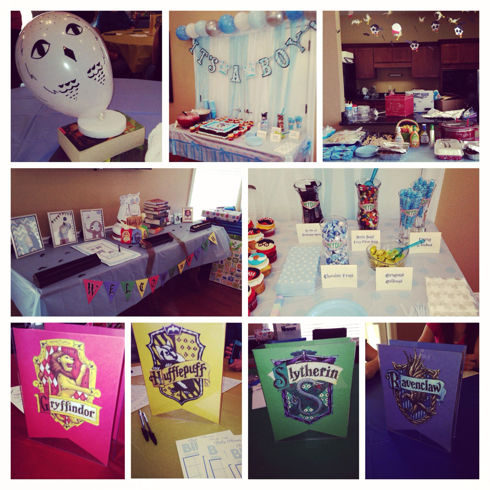 My Harry Potter baby shower Baby Shower Ideas