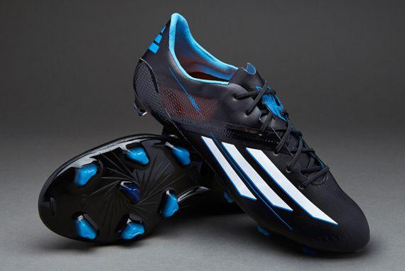adidas f50 adizero xtrx - black/white/blue