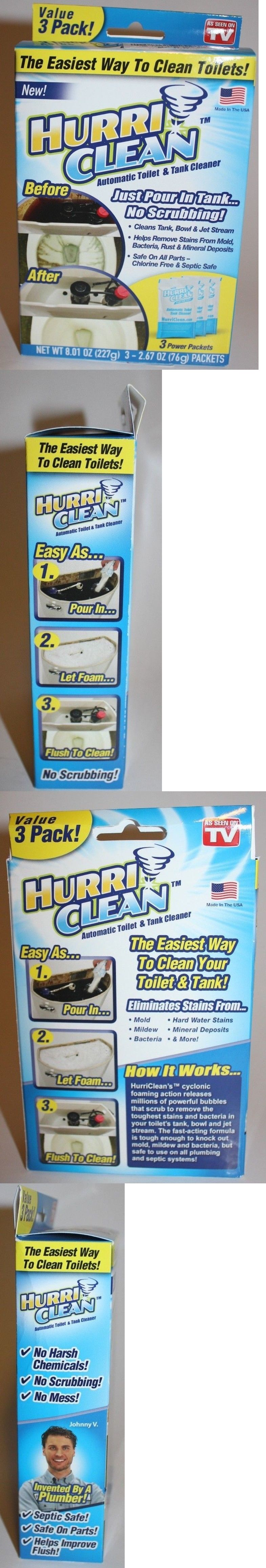Cleaning Products 20605 New Hurriclean Automatic Toilet And Tank