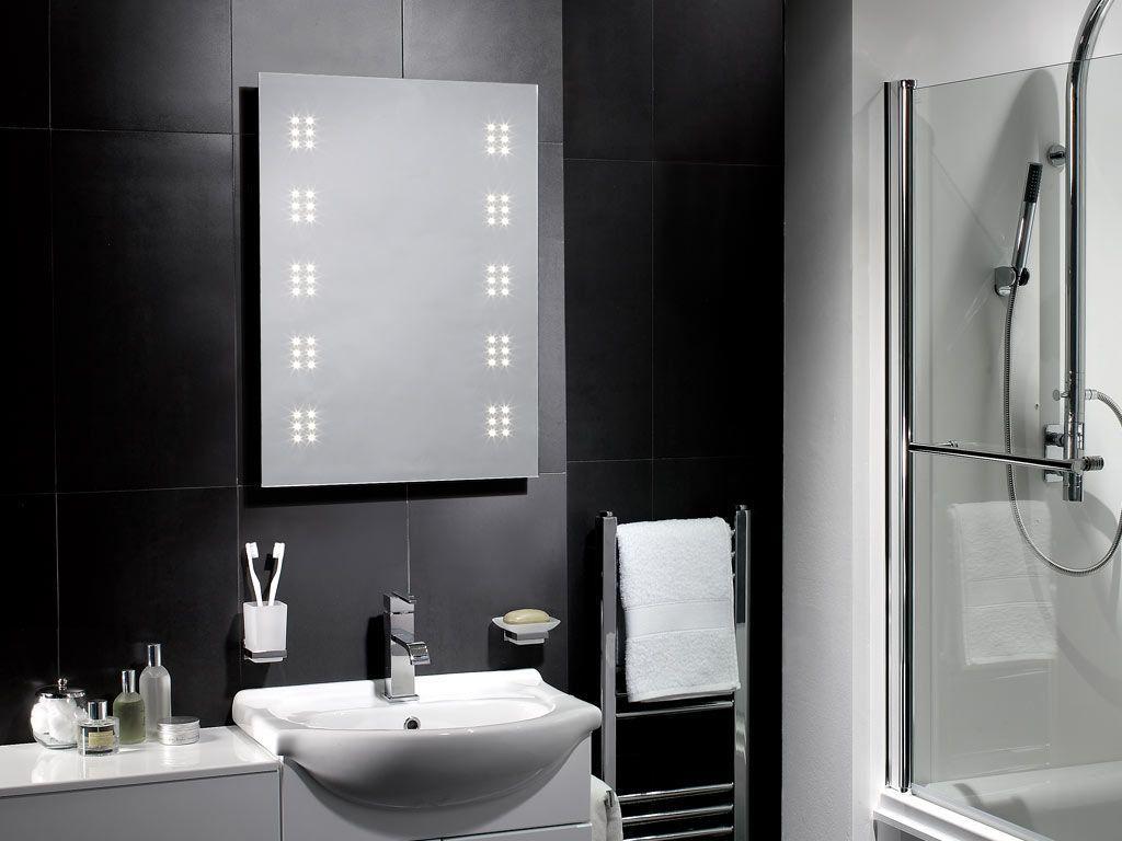 Rega LED Illuminated Bathroom Mirror