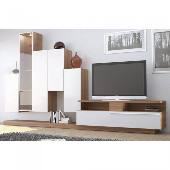 meuble tv mural stair une exclu atylia prix promo atylia 999 00 ttc au lieu de 1 998 00. Black Bedroom Furniture Sets. Home Design Ideas