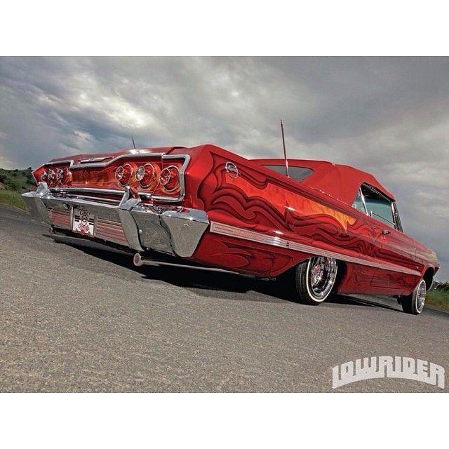 Hawaiian Punch Impala Lowrider Slammed Lowriders Impala Chevrolet Impala