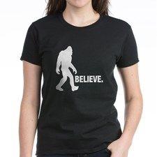 Bigfoot Yeti BELIEVE T-Shirt