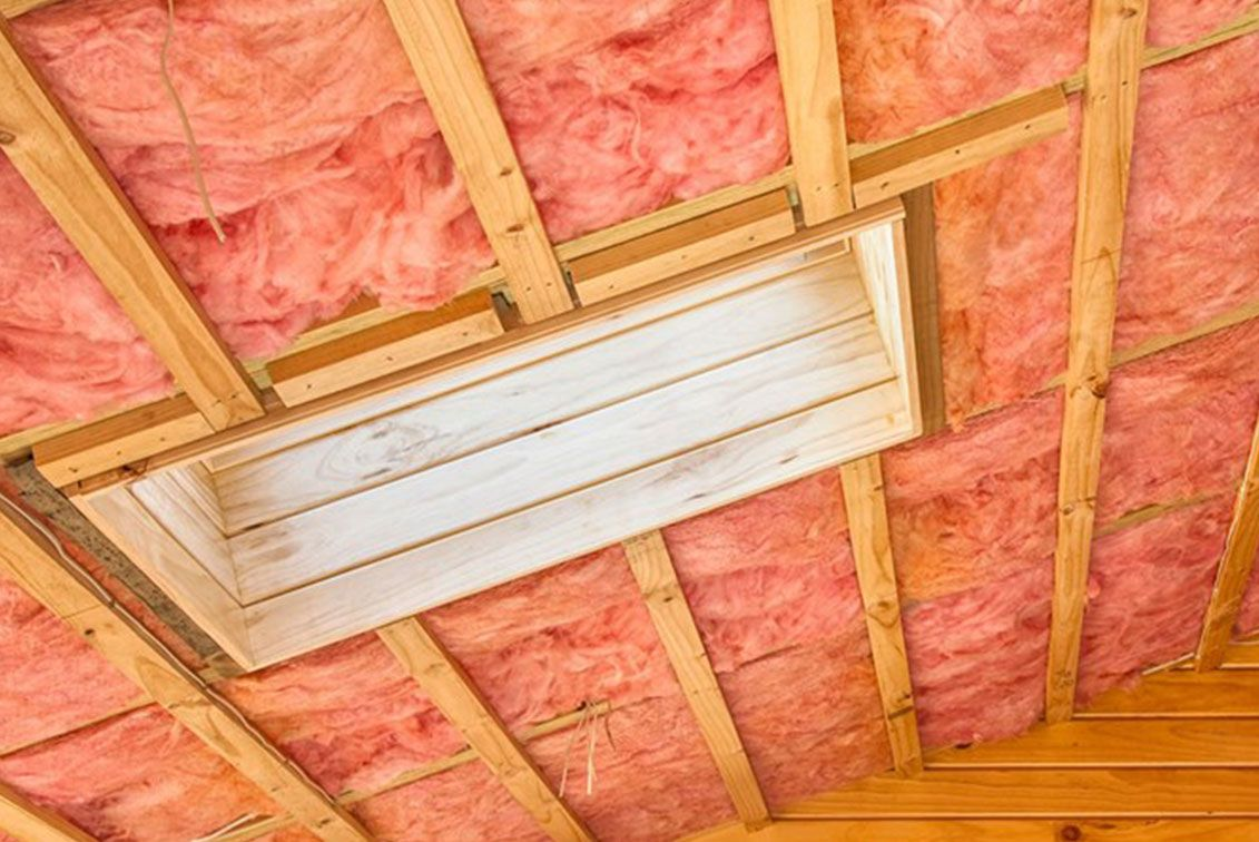 How To Insulate Your Ceiling With Images Fiberglass Insulation