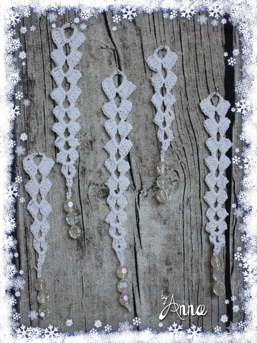 Eiszapfen Weihnachten Pinterest Häkeln Häkeln Anleitung Und