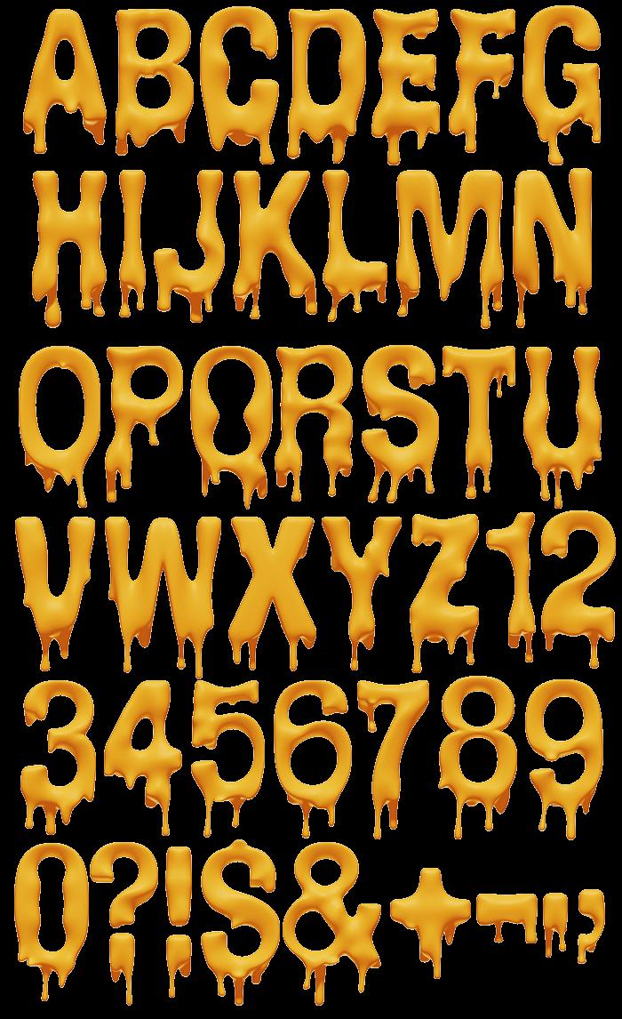 Melting Font Handmadefont Lettering Alphabet Fonts Graffiti Lettering Fonts Lettering Alphabet