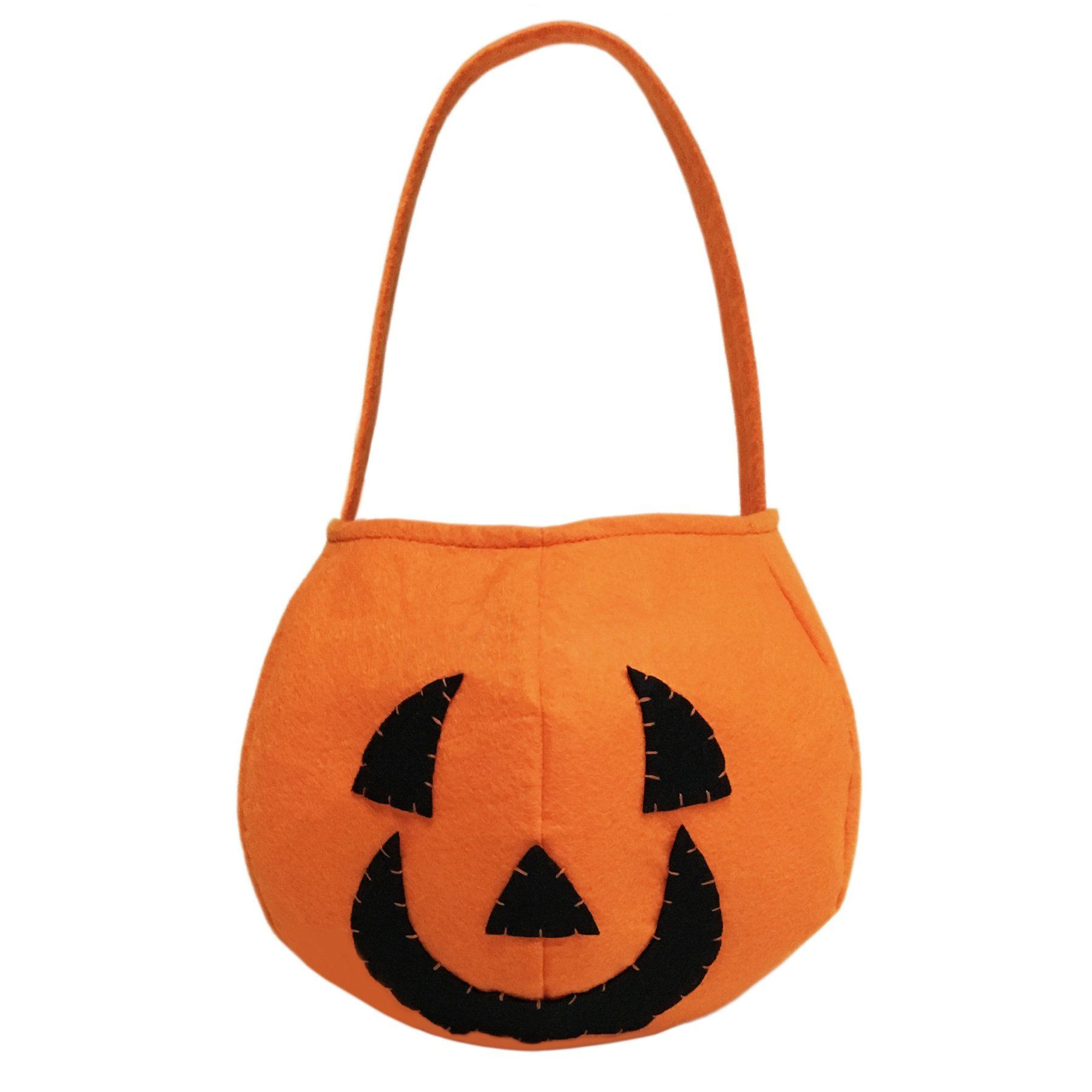 Pumpkin Trick or Treat Candy Bag for Halloween Party Costumes -- Awesome products selected by Anna Churchill
