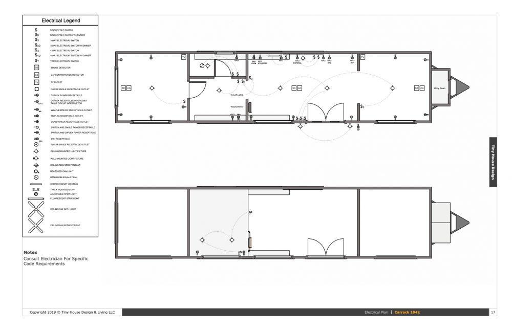 10 42 Tiny House Plans Carrack 1042 Tiny House Design Tiny House Plans House Plans Tiny House Design