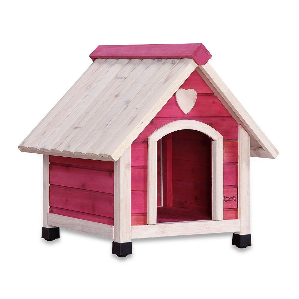 Pet Squeak Pink Arf Frame Dog House Small Small Dog House Dog