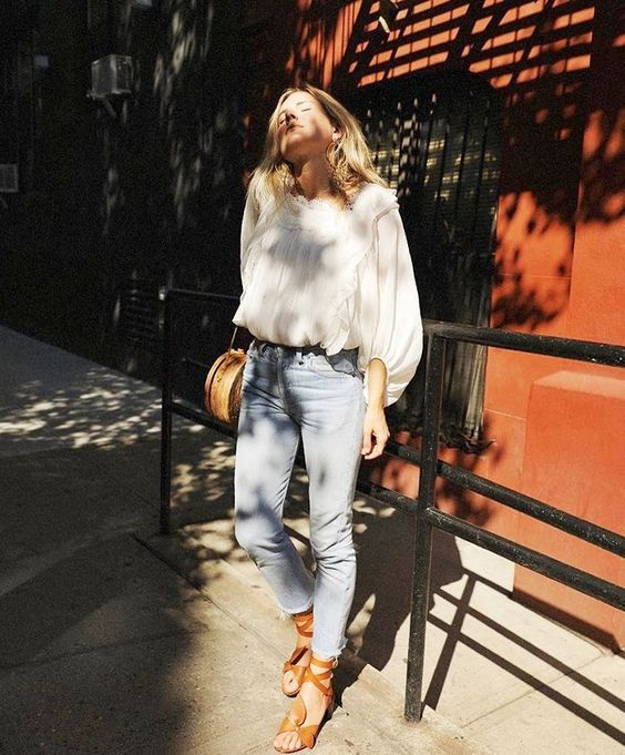 4103c901ae Editorial Eclectic summer street style is what the NYC fashion girls are  wearing - in 2017