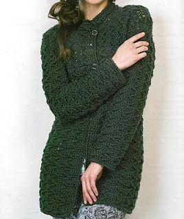 Patrones de Tejido Gratis Saco (crochet) | Patrón para