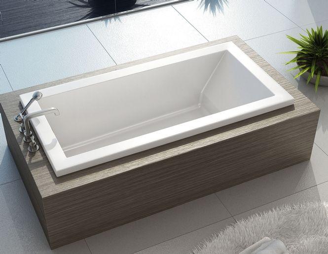 Bain kava 7242 pour installation en podium maax for Salle bain rectangulaire