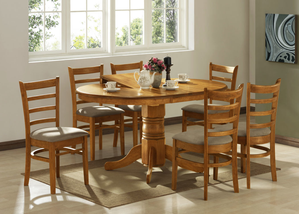 By Designs Bennett 4 Seater Extendable Dining Table Set Reviews Temple Webster Room Seating Dining Suites Dining Table Chairs