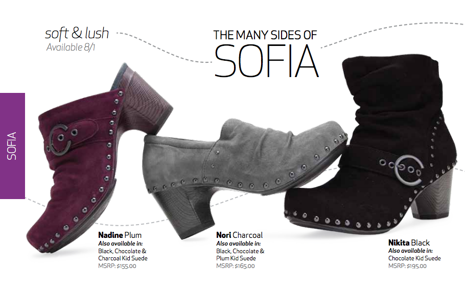 a6d4d125a50 Dansko Sofia collection for fall 2012
