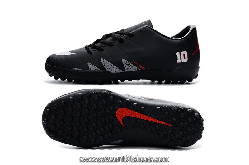 905db3ad7cb Nike Men's Hypervenom Phelon II TF NJR×JORDAN Turf Football Soccer Shoes  Black $73.00