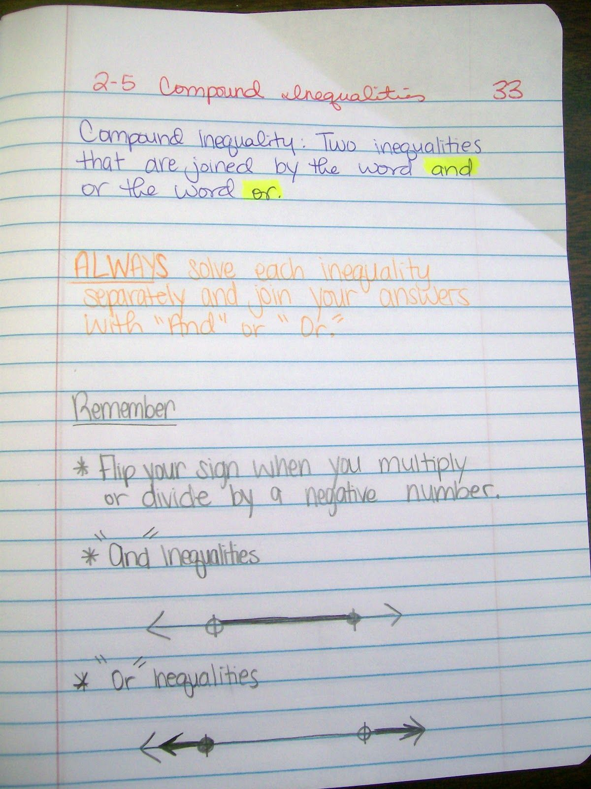 Math = Love Algebra 1 INB Pages over MultiStep Equations